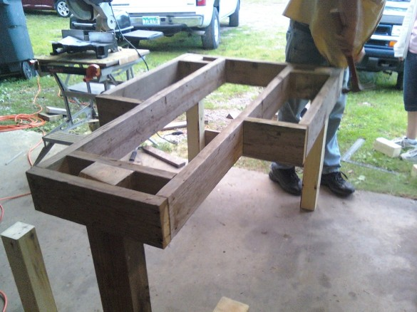 plans for a bench