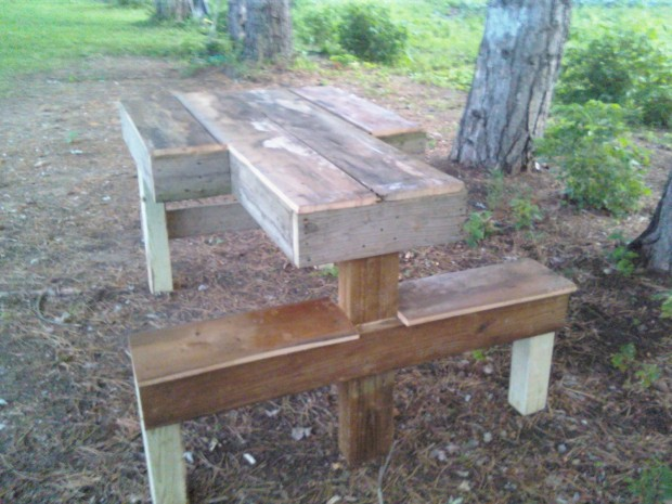 shooting bench plans wood